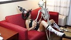 Weird halloween party.