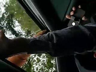 Safada Pelada em Cima do Carro