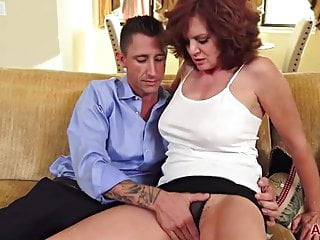 Big Tits Redhead Milf Andi James Gets Fucked On Allover