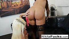 Hot Russian Nikita Von James fucks porn legen Lisa Ann