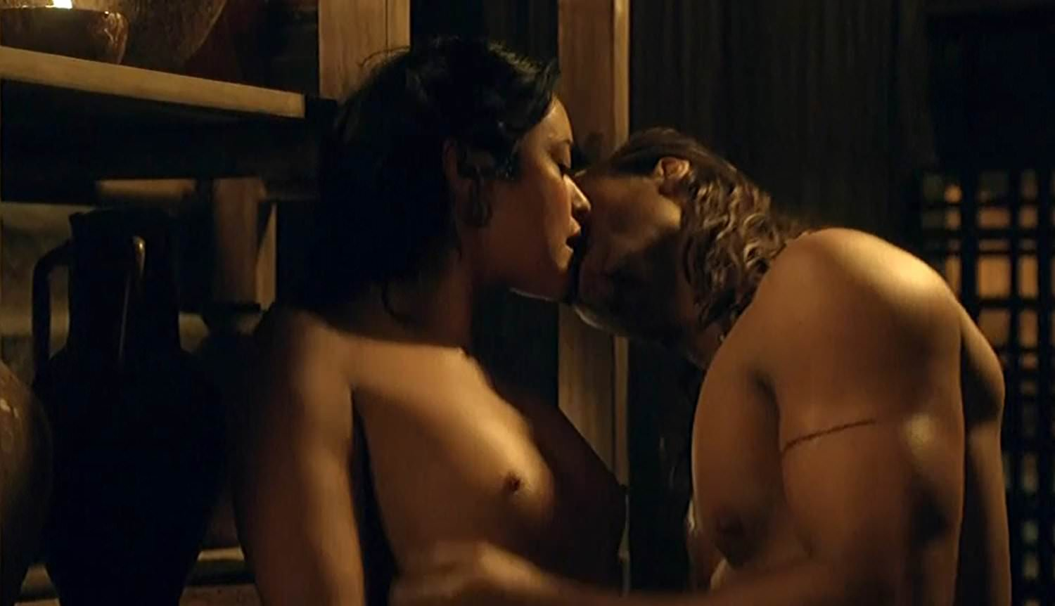 Marisa Ramirez Nude Sex Scene In Spartacus Gods Of The-4524