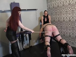 Caned For Pleasure Spanking And Flogging Of Immobilized Ass