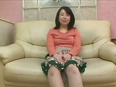 49yr old Japanese Granny Loves to Taste Cum