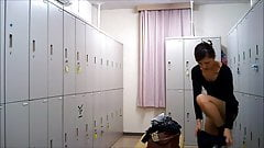 Changing Room - Girl In The Locker Room 005