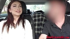 Finger banged stepsister