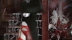 The Staircase - vintage 80s British goth topless dance tease
