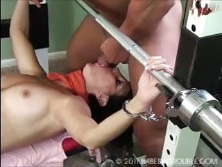 Hot sexy girl bound and fuck