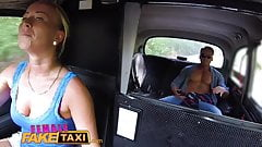 Female Fake Taxi Horny slim blonde driver's Thumb