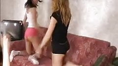 Cute russian naked teens dancing