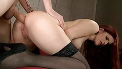 MILF Gets Huge Cock In Every Hole