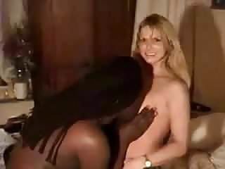 Blonde white wife with black lover