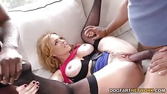 Krissy Lynn takes DP fucking - Cuckold Sessions