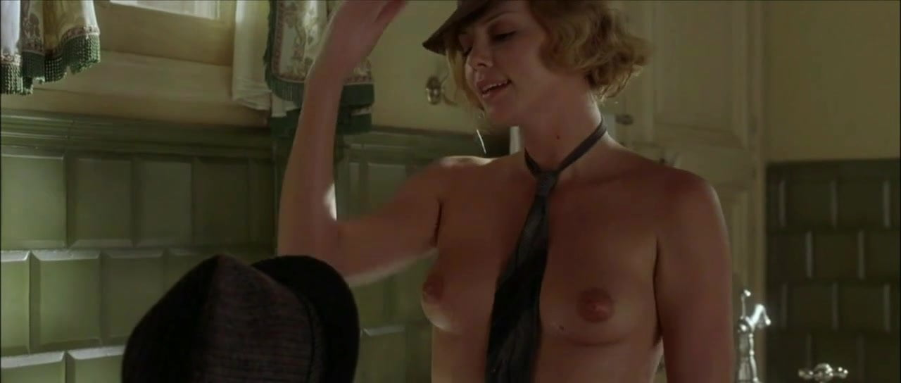 movies nude Charlize theron