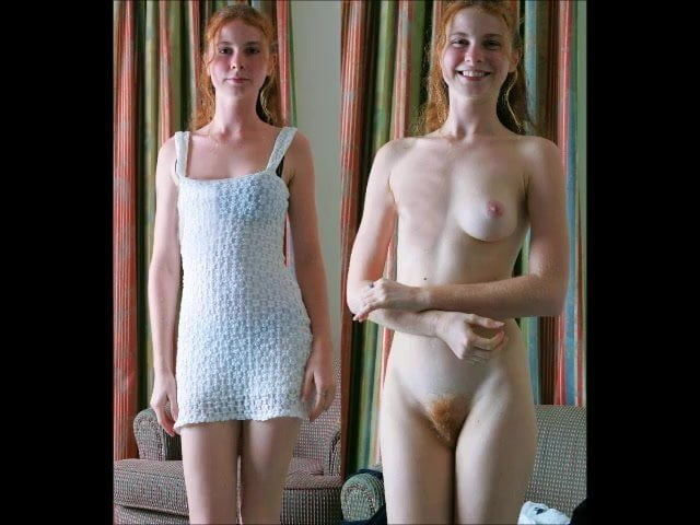 Dressed undressed nude photo