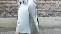 HOT HIJAB SLUT TIGHT DRESS BIG BOOBS