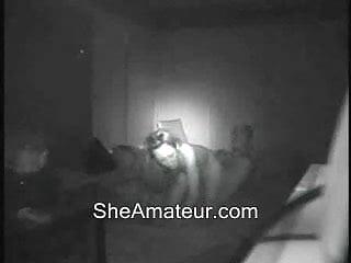 Hidden cam caught my younger girlfriend and her boyfriend
