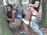 Ebony Wife Fucked Outdoor By White Dick Cuckold Film
