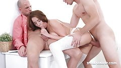 Private.com - Ass Hungry Mischelle Klein Gets Double Cock!