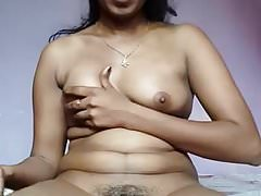 Indian wife with big dildo