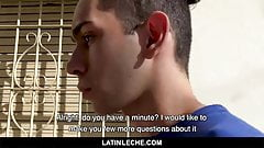 LatinLeche- Cute latin boy takes biggest cock he's ever had