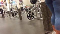 Big Ass at the gym