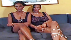 Black girls getting drilled by