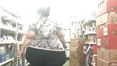Huge wide hips ssbbw candid fat big booty latina