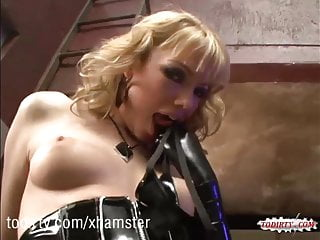 Maya Hills Hardcore Sex In Black Latex