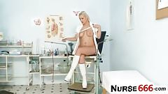Alexa Bold looks hot in nurse