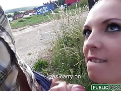 Public Pick Ups - Banging For Bikes starring Ebbi