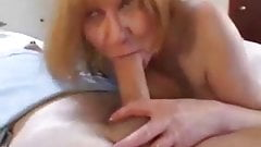 Mature British Redhead Sucks and Fucks