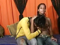 young Indian Couple Fuck At Home