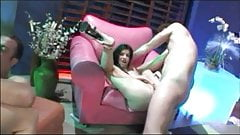 Chick gets her pussy rammed