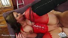 Phoenix Marie Shows Off Her Massive Tits While She Fucks