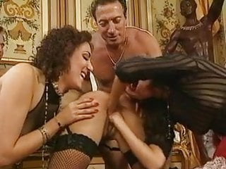 Two Maids Servicing Their Masters