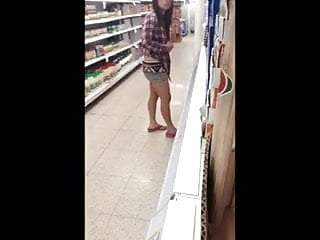 Flashing In The Supermarket