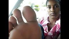 Hood MILF Blue Toes