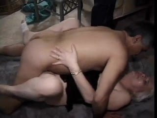 Aunt fucked with a young couple