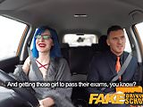 Fake Driving School Anal sex and a facial finish