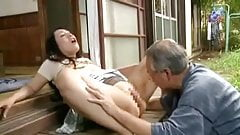 Japanese drama - Father in law and wife