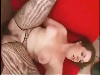 Fat BBW nympho sucks and rides black cock like crazy-2