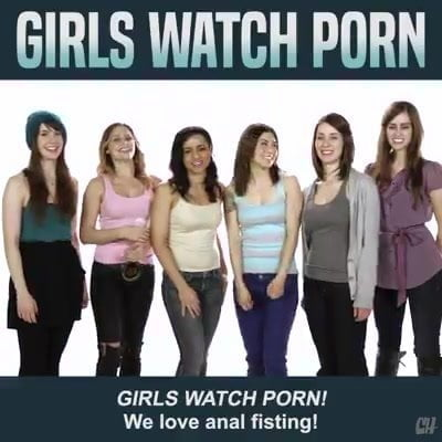 Girls like porn too Funny