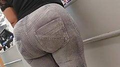 Walgreens Creep Shots MEGA ass ebony booty revisted part 2