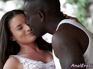 Interracial Analfucked Babe Takes It Hard