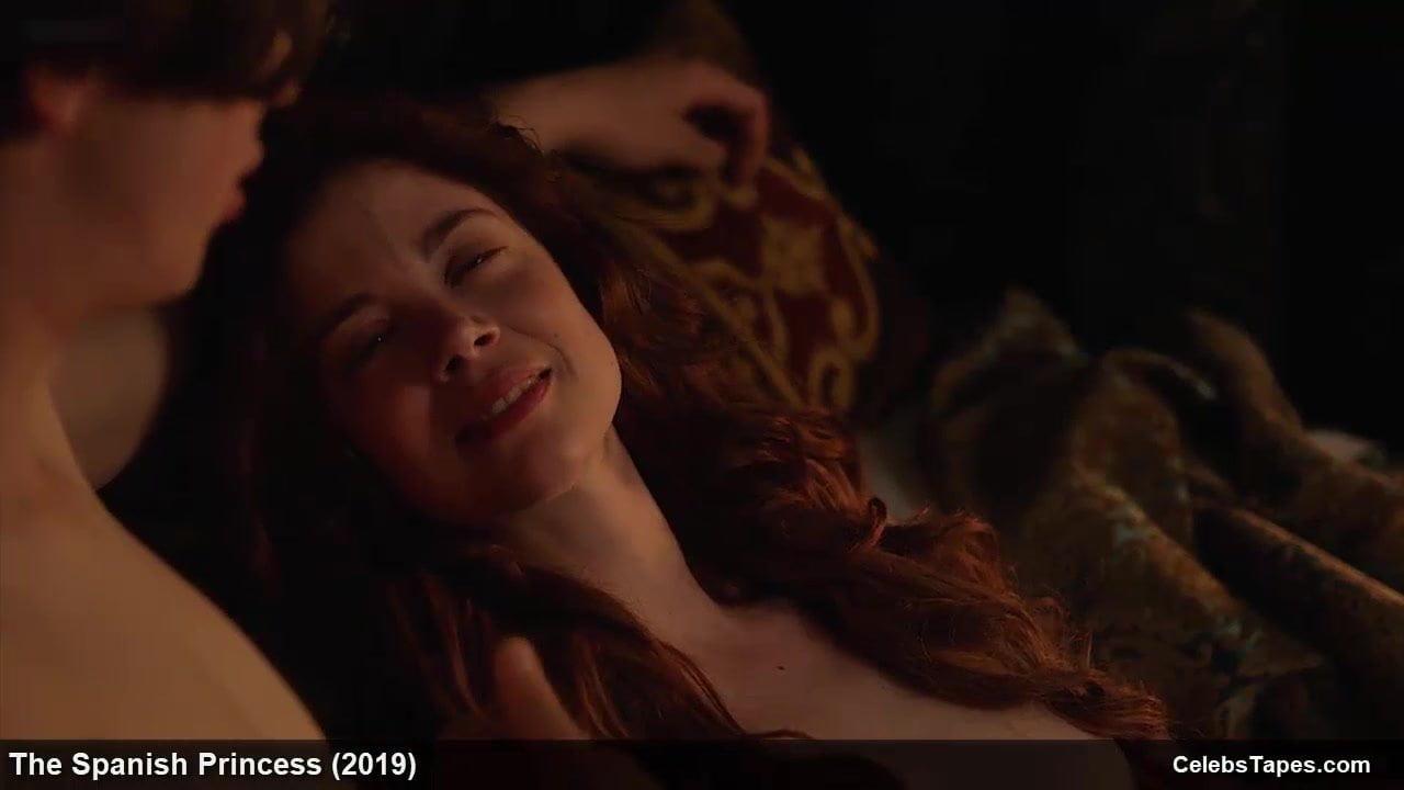 Charlotte Hope all nude and romantic film scenes