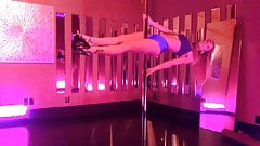 Megan McDuffee, erotic pole dancing's Thumb