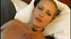 Norwegian amateur chick masturbating