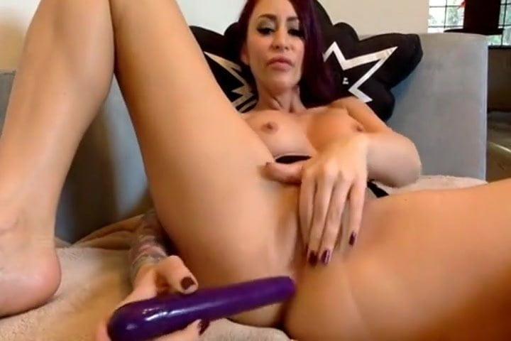 Two women double dildo