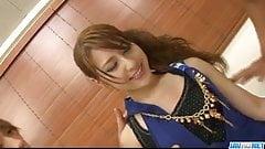 Sexy threesome in hardcore for Ayaka Mizuhara