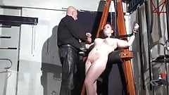 BDSM Bondage of Norway Maid Slave's Thumb